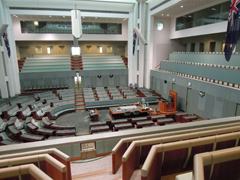 Parliament House Canberra - House of Representatives