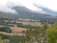 Outeniqua Mountains near Oudtshoorn